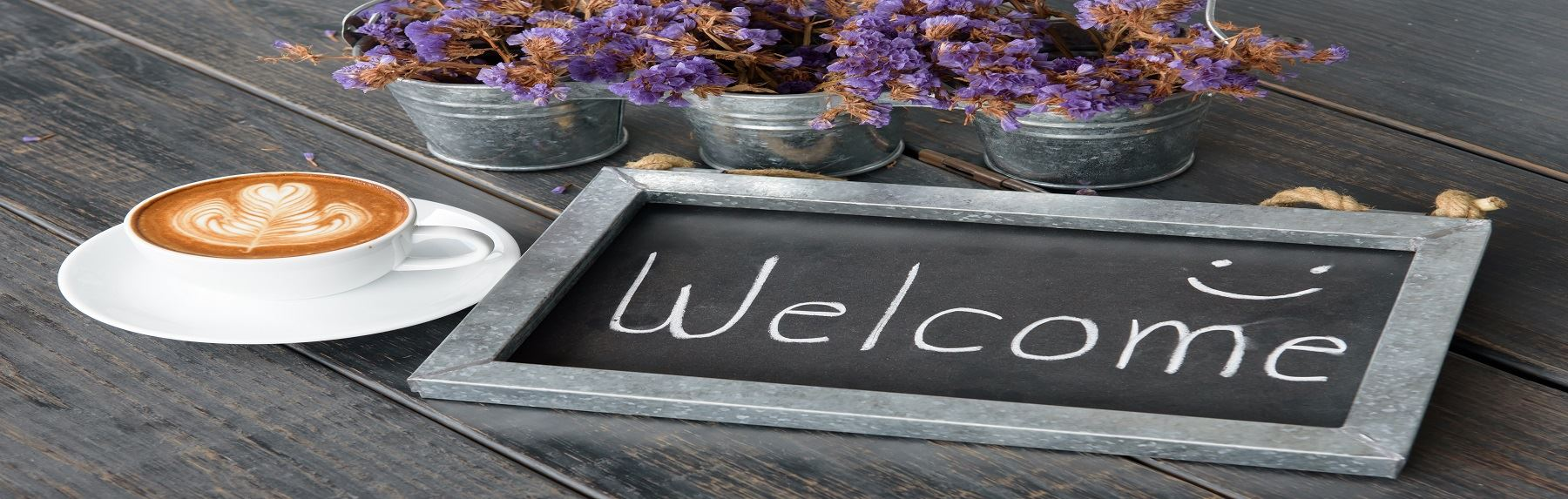 Archives Welcome sign